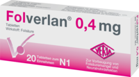FOLVERLAN 0,4 mg Tabletten
