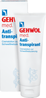 GEHWOL MED Antitranspirant Lotion