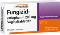 FUNGIZID ratiopharm 200 mg Vaginaltabletten
