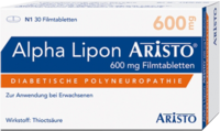 ALPHA LIPON Aristo 600 mg Filmtabletten