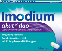 IMODIUM akut N duo Tabletten
