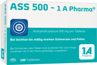 ASS 500-1A Pharma Tabletten