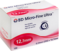 BD MICRO-FINE ULTRA Pen-Nadeln 0,33x12,7 mm