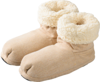 WARMIES Slippies Boots Comfort Gr.37-41 beige