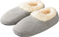 WARMIES Slippies Comfort Gr.37-41 grau