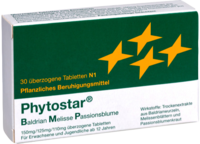 PHYTOSTAR Baldrian Melisse Passionsb.150/125/110mg